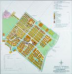 II-126-16 Plattegrond van een uitbreidingsplan in Schiebroek. Het afgebeelde gebied wordt begrensd door de Doenkade, de ...