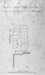II-137-01 Kaart van te verkoopen negen perceelen grond, gelegen aan de Jan van Loonslaan en het Van Alkemadeplein