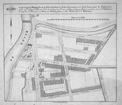 II-142 Kaart van 25 bouwpercelen aan de Linker Rottekade, de Jonker Fransstraat en de Dirk Smitsstraat