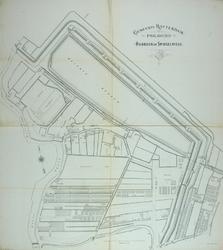 II-143-01 Plattegrond van Oud-Crooswijk