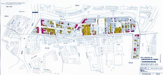 II-144-01-1 Kaart behorende bij de Komvoorschriften Rubroek betreffende de beganegrondverdieping