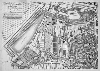 II-144 Kaart van de polder Rubroek en Spiegelnisse