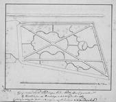 II-150-1 Kopie van een ontwerptekening van de Oude Plantage