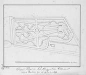 II-150-2 Kopie van een gewijzigde ontwerptekening van de Oude Plantage