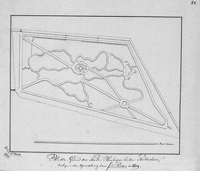 II-150-4 Kopie van een plattegrond van de Oude Plantage