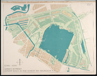 II-161-1 Plankaart voor het Kralingse Bos