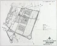 II-162-00-00-04 Plattegrond van Kralingen-Oost. Het afgebeelde gebied wordt begrensd door Rijksweg 16, de Kralingseweg, ...