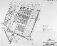 II-162-00-00-08 Kaart van een uitbreidingsplan in Kralingen-Oost. Het plangebied wordt begrensd door de Laan van ...