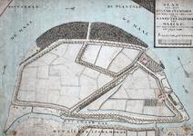 II-167 Plattegrond van het eiland Feijenoord met het Kadetteninstituut van de Koninklijke Marine