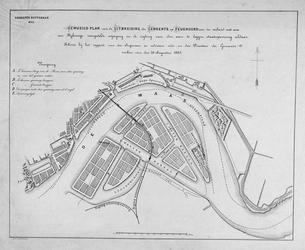 II-174 Kaart van het uitbreidingsplan Feijenoord