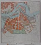 II-184 Kaart van een uitbreidingsplan op Rotterdam-Zuid