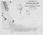 II-185 Kaart van het stratenplan in de Oost-Varkenoordse polder