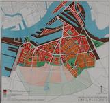 II-193-01 Plattegrond van een herziening van het uitbreidingsplan op Rotterdam-Zuid