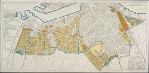 II-193-02 Plattegrond van een wijziging van enige delen van van het uitbreidingsplan op Rotterdam-Zuid