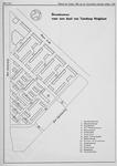 II-194-01 Kaart met straatnamen van een deel van tuindorp Heijplaat (tussen Heysekade, Eemhavenweg en Courzandseweg).