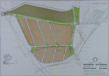 II-206 Plattegrond van het gebied Waalhaven-Zuid