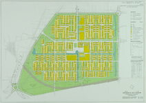 II-217 Plattegrond van het uitbreidingsplan Pendrecht