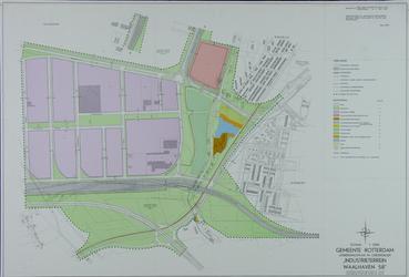 II-226 Plattegrond van het industriegebied Waalhaven-Zuid