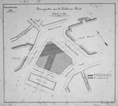 II-42 Plattegrond van bouwterreinen aan de Oudehavenkade