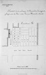 II-55 Kaart van te verkopen Perceelen bouwgrond   gelegen aan de Aert van Nes- en de Maurits-straat