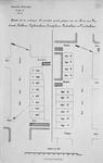 II-56 Kaart, in twee gedeelten, van te verkopen bouwpercelen gelegen aan de Aert van Nesstraat, Kerklaan, ...
