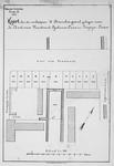 II-57 Kaart van te verkopen grondpercelen gelegen aan de Aert van Nesstraat, Lijnbaans-Laan en Crispijn-Laan