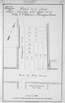 II-58 Kaart van te verkopen grondpercelen gelegen aan de Witte de Withstraat en de Boomgaardslaan