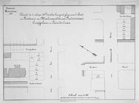 II-60 Kaart, in twee gedeelten, van te verkopen bouwpercelen gelegen aan de Aert van Nesstraat, de Van ...