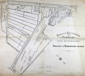 II-62-01 Plattegrond van een gedeelte van de Provenierswijk, gelegen tussen de Schiekade, Beukelsdijkscheweg ...