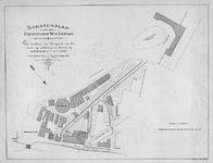 II-62A Kaart van te verkopen grondpercelen aan het Stationsplein en de West-Schiekade