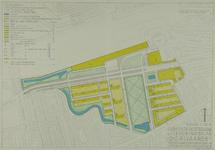 II-63-01-01 Plattegrond van de Diergaarde Rotterdam met daarop een plan voor de bouw van woningen