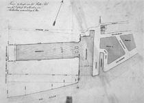 II-65-01 Plankaart voor de aanleg van een berghaven ten westen van Rotterdam [Westerhaven]