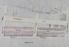 II-89 Plattegrond van percelen in de Nieuwe Binnenweg, Volmarijnstraat, 's-Gravendijkwal en Schietbaanlaan, het ...