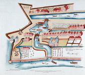 II-9 Kopie van een plattegrondtekening van het oostelijke gedeelte van de stadsdriehoek