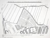 II-94 Stratenplan van bouwterreinen van de Westerbouwgrondmaatschappij tussen de Vierambachtsstraat en de Beukelsdijk
