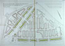 II-96-02 Plattegrond van Tusschendijken met aanduiding van de achtergevelrooilijnen