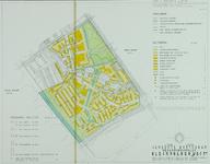 II-99-08 Plattegrond van het wederopbouwplan Kleinpolder-West
