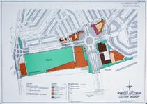 II-99-09 Kaart van het uitbreidingsplan Centrum Blijdorp