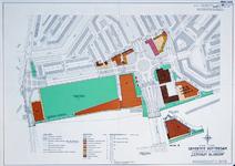 II-99-10 Kaart van het uitbreidingsplan Centrum Blijdorp