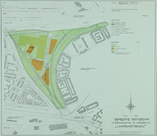 II-99-12 Kaart van de Laanslootseweg en omgeving met vermelding van de bestemmingen