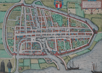 RI-10 Plattegrond van Rotterdam