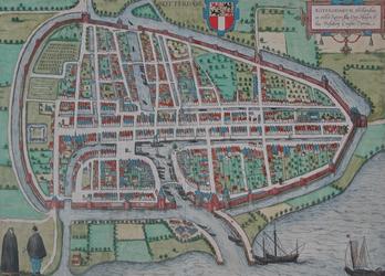 RI-11 Plattegrond van Rotterdam.