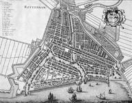 RI-19 Plattegrond van Rotterdam