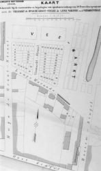 RI-200 Kaart behorende bij de voorwaarden en bepalingen van openbare verkoop van 58 perceelen open grond aan de ...