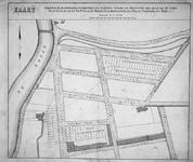 RI-204 Kaart behorende bij de voorwaarden en bepalingen van openbare verkoop van 64 percelen open grond aan de Jonker ...