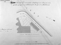RI-240 Kaart behorende bij de voorwaarden en bepalingen bij de verkoop van grondpercelen aan de Schiedamsesingel en de ...