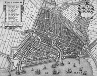 RI-25 Plattegrond van Rotterdam