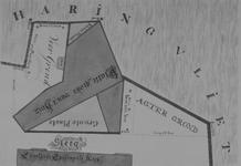 RI-276 Plattegrond van het Bolwerk aan het Haringvliet, nabij de Engelse Episcopale Kerk