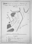 RI-414-1 Kaart behorende bij de voorwaarden en bepalingen van openbare verkoop van 23 grondpercelen gelegen aan het ...