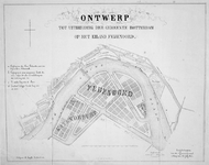 RI-468-2A Plan voor de uitbreiding van de gemeente Rotterdam op het eiland Feijenoord. In dit plan wordt Feijenoord ...